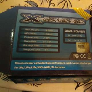 Rapid charger for RC X-Charger 606D
