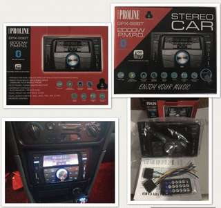 Proline 99bt Car Stereo