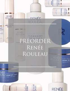 Preorder Renee Rouleau Skincare products