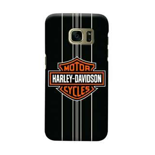 Harley Davidson Samsung Galaxy S7 Edge Custom Hard Case