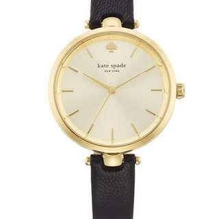 Kate Spade 黑色手錶 全新 有盒