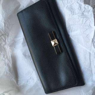 80%new Furla Black wallet