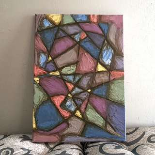 Abstract Art - Samla / 14 X 10 Inches