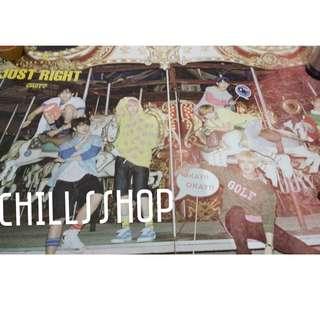 Poster Official GOT7 - Just RIght