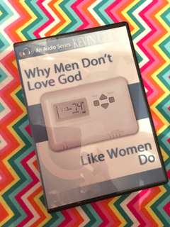 Charity Sale! Why Men Don't Love God Like Women Do Audio Cd