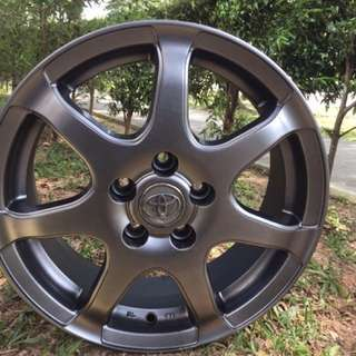15in PCD 5-100 Original Toyota Wish Rims On Sale