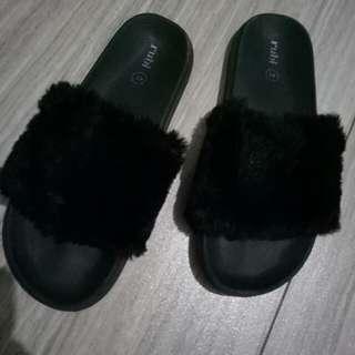 rubi fur sandal