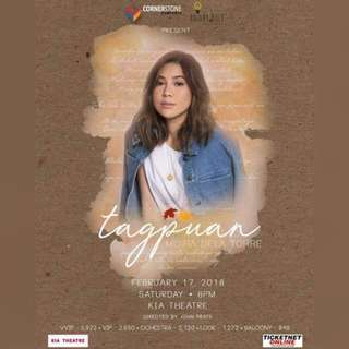 Looking for: 3 Day 1 or Day 2 tickets of Moira Dela Torre's Tagpuan Concert