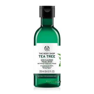 Body Shop Tea Tree Facial Wash 250ML