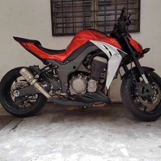 2014: Z1000 Condition tiptop Macam Baru🔥 LOW MILEAGE. Only 22k. Service Ontime, Tkpernah miss service. Well Maintained Bike 👍🏼 Cash Only: RM 52,000 Negotiable