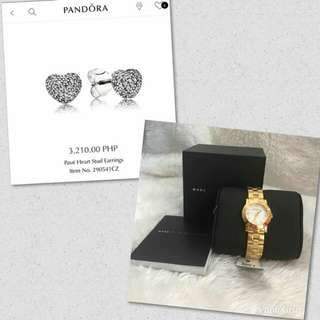 Clearance Sale! Authentic Pandora and Authentic Marc Jacobs Ladies Watch