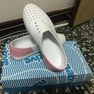 native晴雨鞋(粉紅色-附鞋盒)