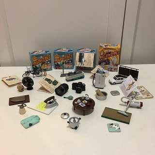海洋堂 Glico 固力果 懷念20世紀系列 包4個小盒 可配森林家族/re-ment 微型 食玩 微縮