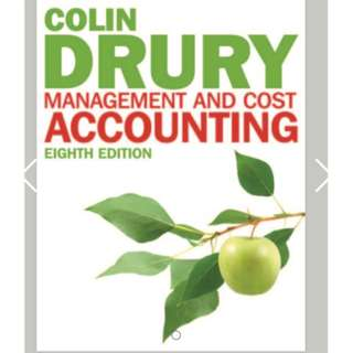 Management and Cost Accounting by Colin Drury [sim uol]
