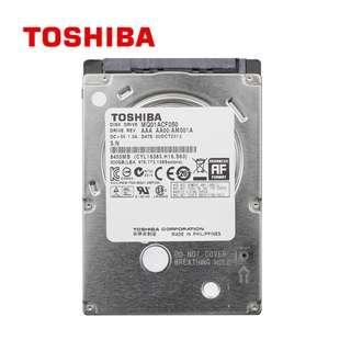 """Toshiba 2.5"""" NB 500GB HardDisk"""