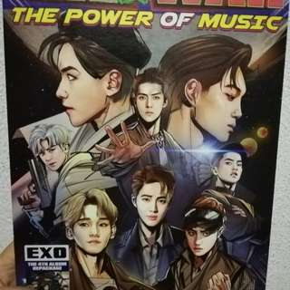 EXO POWER KOR VER (without pc, without comic) - no poster