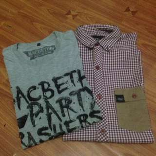 Tshirt Macbeth and Shirt the finest Floss