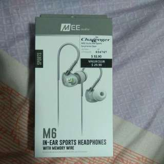 Mee audio M6 Sports earphone clear