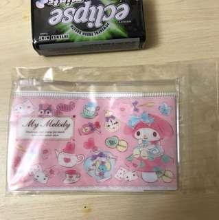 My Melody Name Card Zipper Case