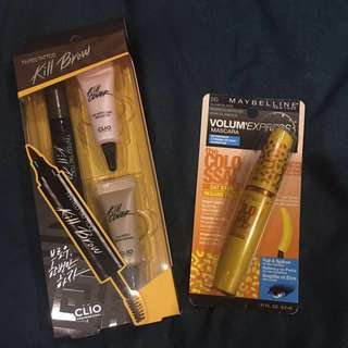 Clio and Maybelline Make-up bundle