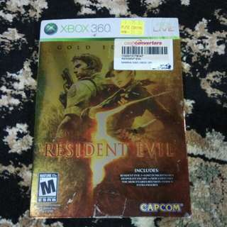 X360 - Resident Evil 5 Gold Edition