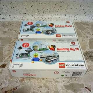 SG50 Building My SG Lego Set