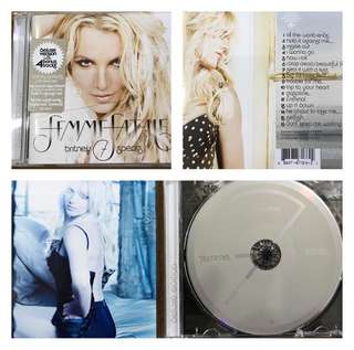 Britney Spears single audio CD