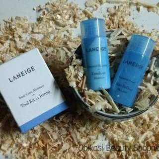 LANEIGE Basic Care Moisture Trial Kit