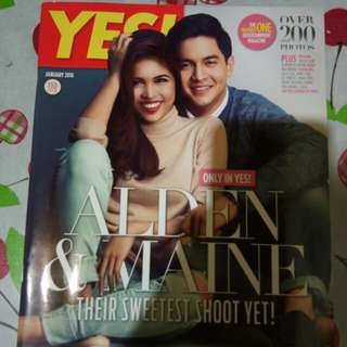 AlDub Yes! Magazine (January 2016)