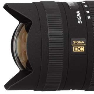 Sigma 8-16mm Nikon Apsc Mount