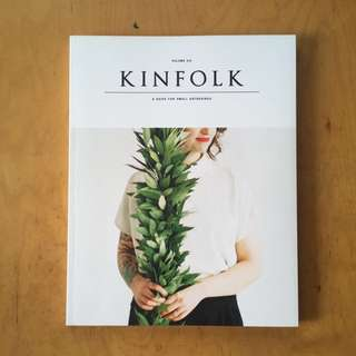 💥Reduced💥Kinfolk: A Guide for Small Gatherings Volume 6 (2012 Archival Magazine Issue)