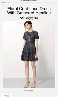 New Saturday Club Lace Dress