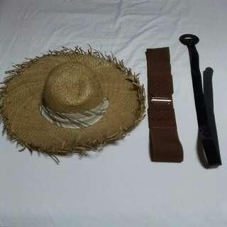 Bundle 4: Floppy Hat & Belts