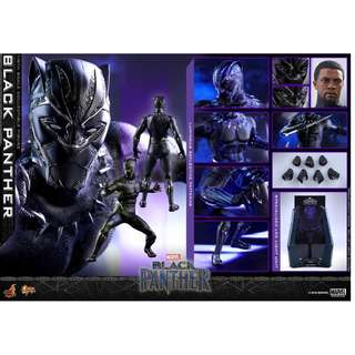 Pre-Order for Movie Masterpiece Series MMS470 - Black Panther - Black Panther
