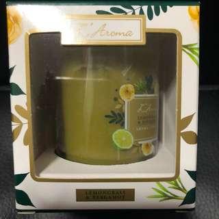 L'Aroma Lemongrass & Bergamot Candle