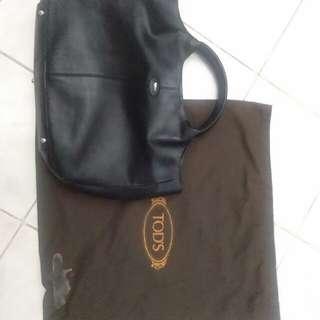 Tods Black Tote Bag
