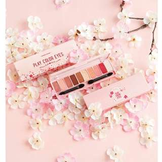 (INSTOCK) ETUDE HOUSE PLAY COLOR EYES #CHERRY BLOSSOM