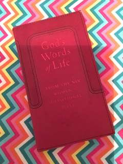 Charity Sale! God's Words of Life From the NIV Women's Devotional Bible