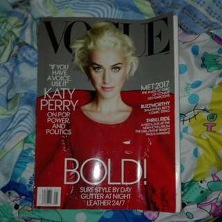 Katy perry vogue magazine