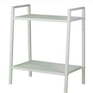IKEA lerberg Rak Kecil (Putih)