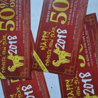 Star City 50 % off  200 for 4 pcs