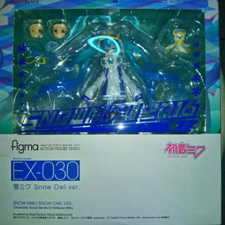 Snow Miku: Snow Owl Version ( figma action figure