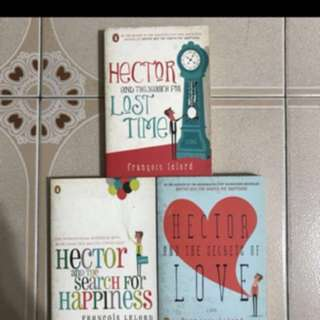 1) Hector and the search for happiness  2) Hector and the secrets of love  3) Hector and the search for lost time