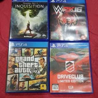PlayStation 4 (ps4) games sales