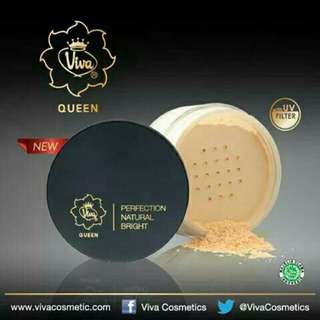 Viva queen perfection natural bright loose powder