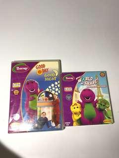 Barney Dvd set