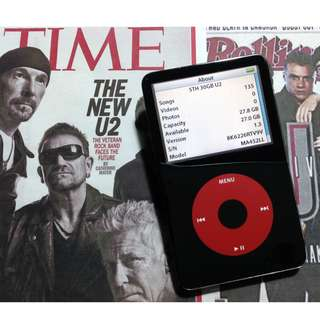 ipod classic 5.5th gen 30gb u2 special edition not astell kern