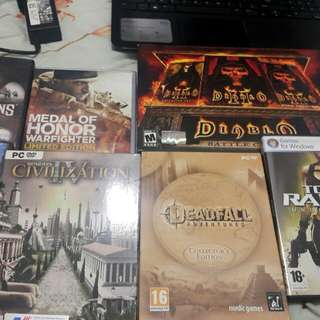 Pc games for sale as set