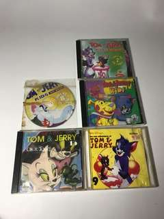 Tom and jerry dvd bundle up