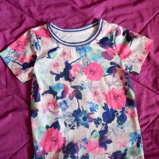 Mothercare floral top
